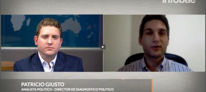 Entrevista para Infobae TV sobre el nuevo protocolo de piquetes