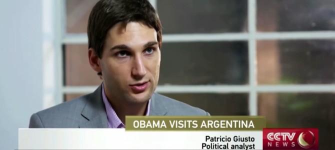 Análisis para la TV china sobre la visita de Obama a la Argentina