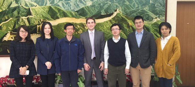 Disertación del Director de DP en la Embajada de China