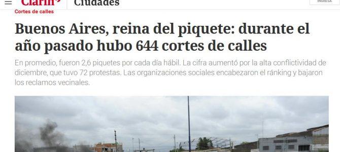Diagnóstico Político en el diario Clarín