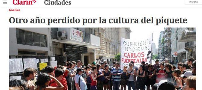 Columna de Patricio Giusto en Clarín