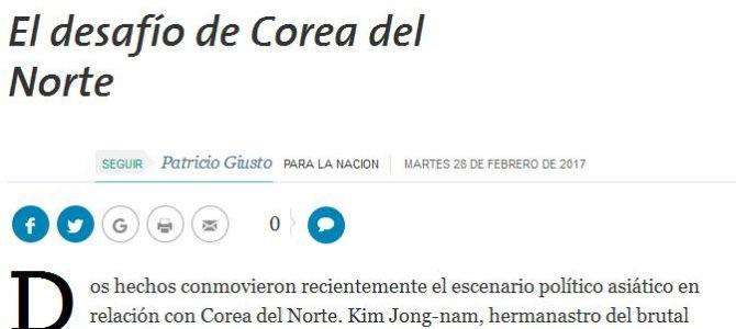 Columna de opinión sobre Corea del Norte