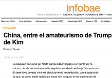 Columnas de Patricio Giusto en Infobae y Tiempo Argentino