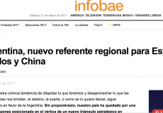 Análisis para Infobae sobre la proyección regional de Argentina