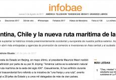 Columna de opinión en Infobae