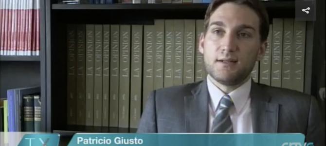 Entrevista con la TV de Galicia