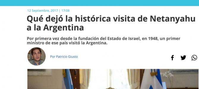 La visita de Netanyahu a la Argentina, bajo la mirada de Patricio Giusto