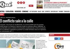 Informe de la Revista Qué en base a datos de DP