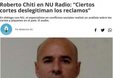 Roberto Chiti entrevistado por Noticias Urbanas