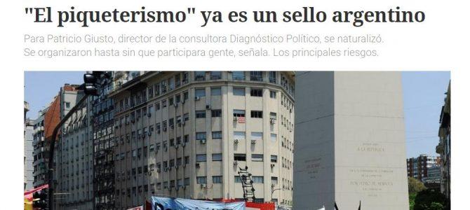"""""""El piqueterismo"""" ya es un sello argentino"""