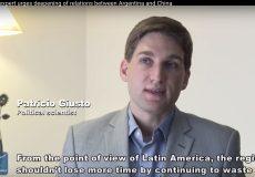 Entrevista de Patricio Giusto con la prensa de China