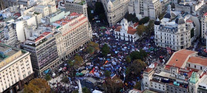 INFORME ESPECIAL – La conflictividad en Argentina durante mayo