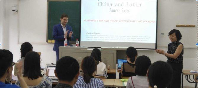Patricio Giusto como profesor invitado en Beijing
