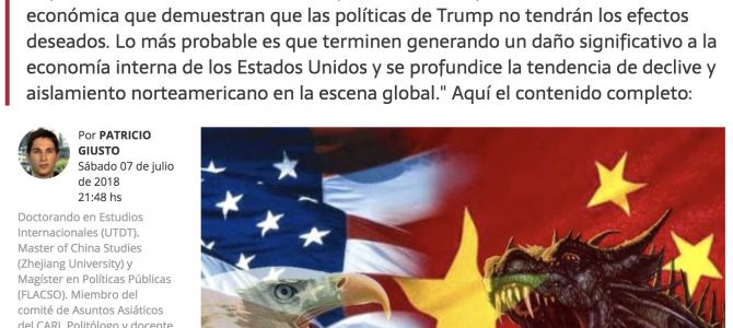¿Hasta dónde puede llegar la guerra comercial entre EEUU y China?
