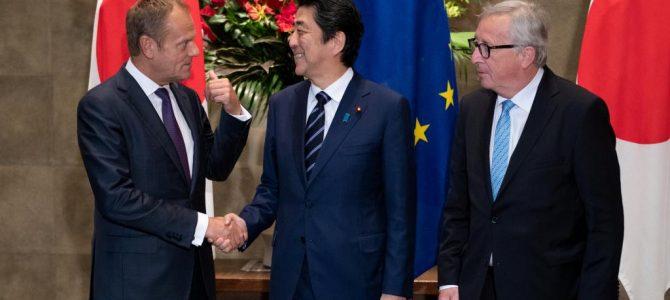 ¿Es una traición a EEUU la firma del EPA entre Japón y la UE?