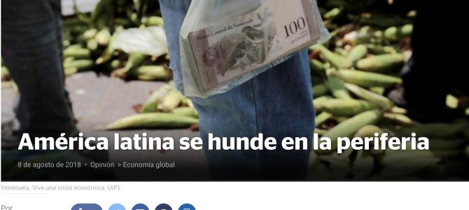 América Latina se hunde en la periferia