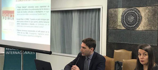 Patricio Giusto disertó en el CARI sobre el soft power de China