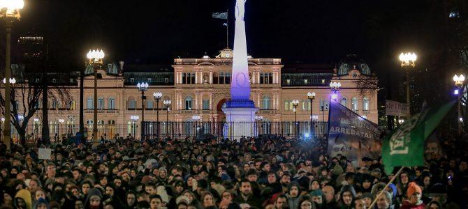 INFORME MENSUAL – La conflictividad en Argentina en agosto