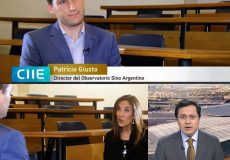 Entrevista a Patricio Giusto en CGTN en Español