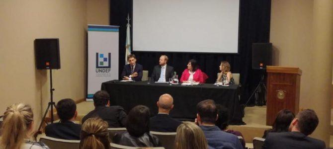 Patricio Giusto presentó el nuevo libro de la UNDEF
