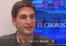 Entrevista a Patricio Giusto en Cronista TV