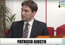 Patricio Giusto en Canal 22