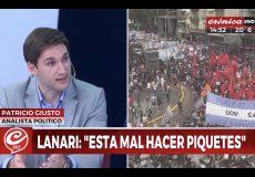 Patricio Giusto en Crónica TV