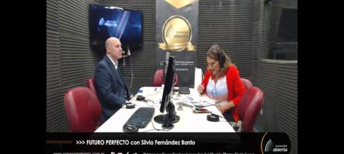 Roberto Chiti con Silvia Fernández Barrio
