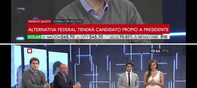 Patricio Giusto en C5N