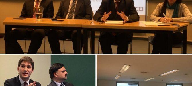 Disertaciones de Patricio Giusto en la UCA y en la Austral