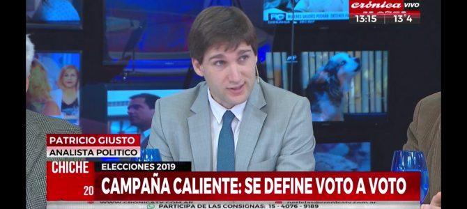 Patricio Giusto analizó las PASO en Crónica TV