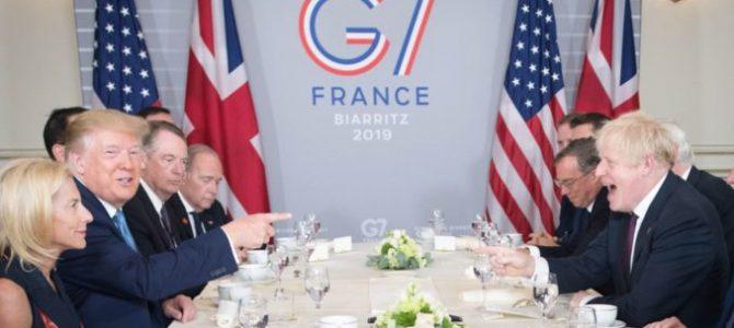 La caricatura del G7 en Biarritz