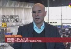 Roberto Chiti en Canal 13
