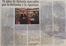 Patricio Giusto en el diario Clarín