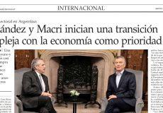 Entrevista a Roberto Chiti en El Mercurio
