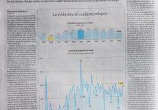 DP, nuevamente destacado en La Nación