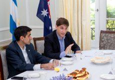 Patricio Giusto fue invitado al lanzamiento del foro Australia-LATAM