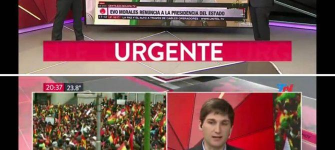 Patricio Giusto analizó la crisis de Bolivia en TN
