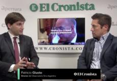 Entrevista en Cronista TV