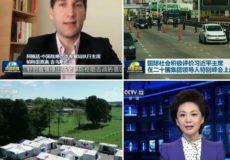 Patricio Giusto, otra vez en el noticiero central de la TV china