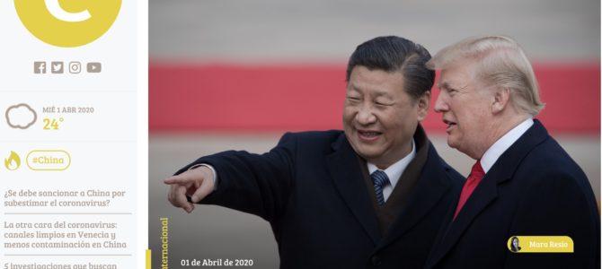 Entrevista sobre China y los EE.UU. frente al coronavirus