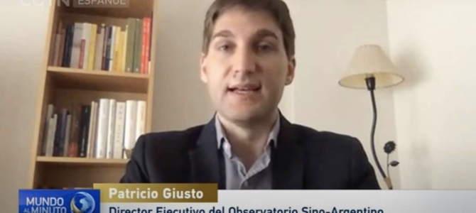 Entrevista en CGTN sobre Argentina y el coronavirus