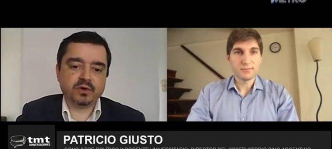 Entrevista sobre relaciones China-Argentina en Canal Metro