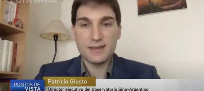 Entrevista con CGTN de China