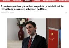 Diálogo con la radio internacional de China
