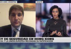 Entrevista con France 24 sobre Hong Kong