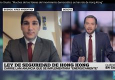 Nueva entrevista con France 24 sobre el conflicto China-EEUU