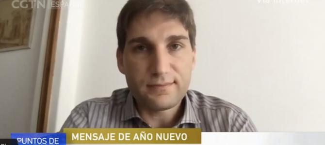 Entrevista con CGTN en Español