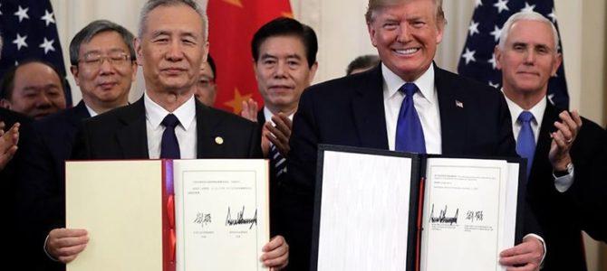Momento crítico de la relaciones entre Estados Unidos y China