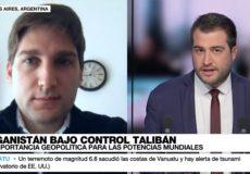 Entrevista con France 24 en Español